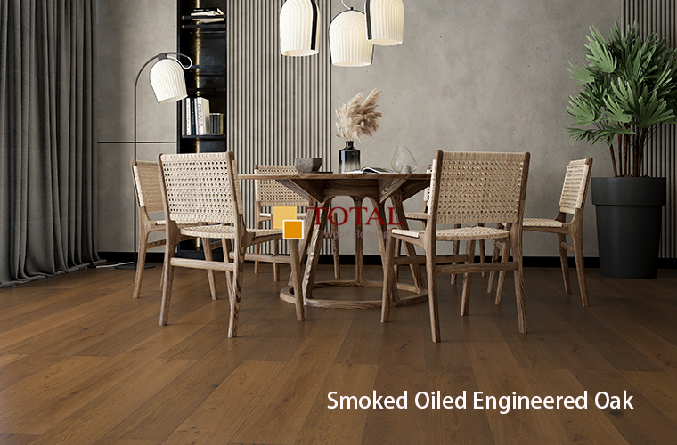 Natural Engineered Oak 3ply Lacquered
