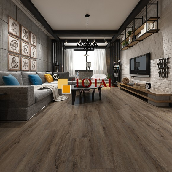 Antique Smoke White, DIY Box, WPC Core LVT Flooring, 100% Waterproof