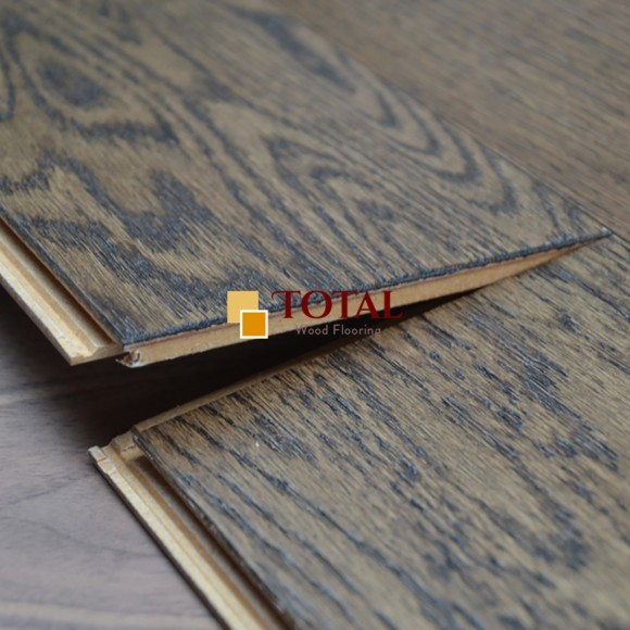 Smoky Brushed Lacquered Flooring
