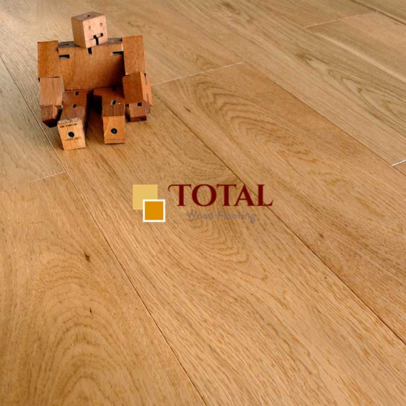 Brushed Lacquered Flooring Close View