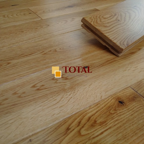 Solid Oak Lacquered DIY Box Sheets View