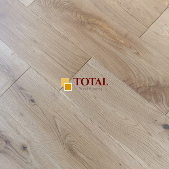 Solid Oak Brushed Oiled DIY Box Size Wood Flooring