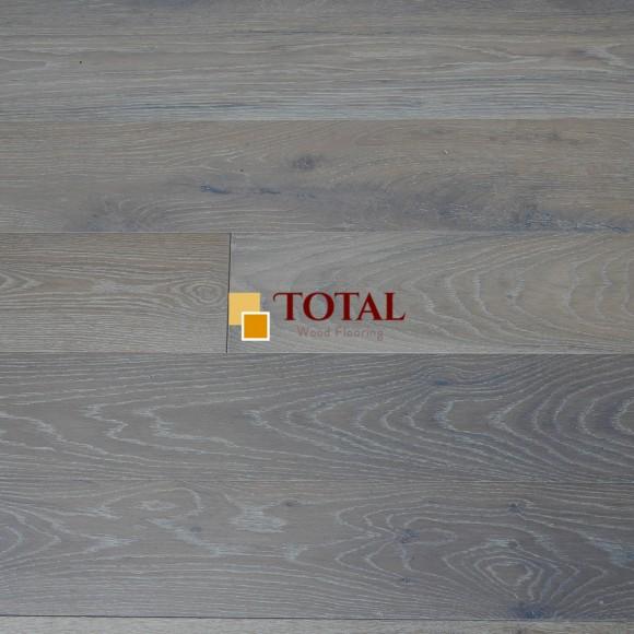 Engineered Oak Smoked Brushed UV Oiled Wood Flooring